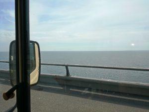von Dänemark nach Schweden über die Öresundbrücke